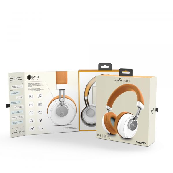 AUDIFONOS BLUETOOTH ENERGY SISTEM EY-446636 CAFE BLUETOOTH 1.2 M