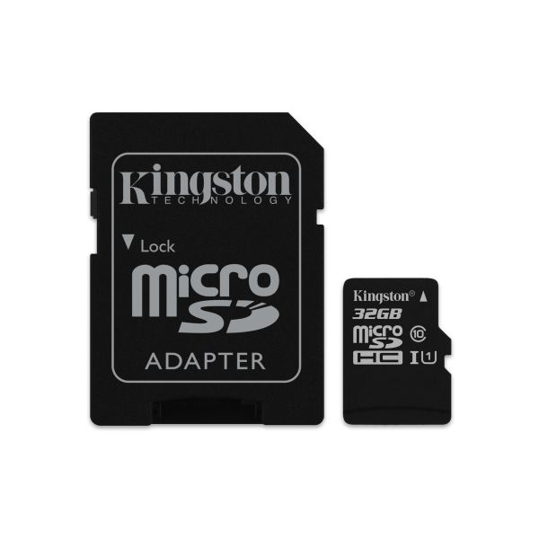 MEMORIA MICRO SD KINGSTON CANVAS SELECT 32GB UHS-I CL10 (SDCS/32GB)