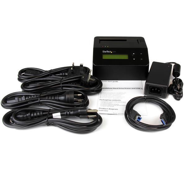 STARTECH DOCK USB3.0 BORRADOR P. DISCOS 2.5-3.5 SATA 1BAHIA SDOCK1EU3P