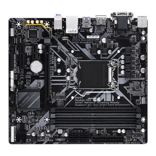 TARJETA MADRE GIGABYTE B365M DS3H LGA1151 4xDDR4 USB3.1 B365M DS3H