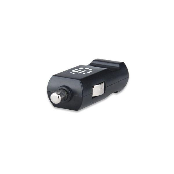 CARGADOR USB PARA AUTO CEL/TABLET MANHATTAN 101714