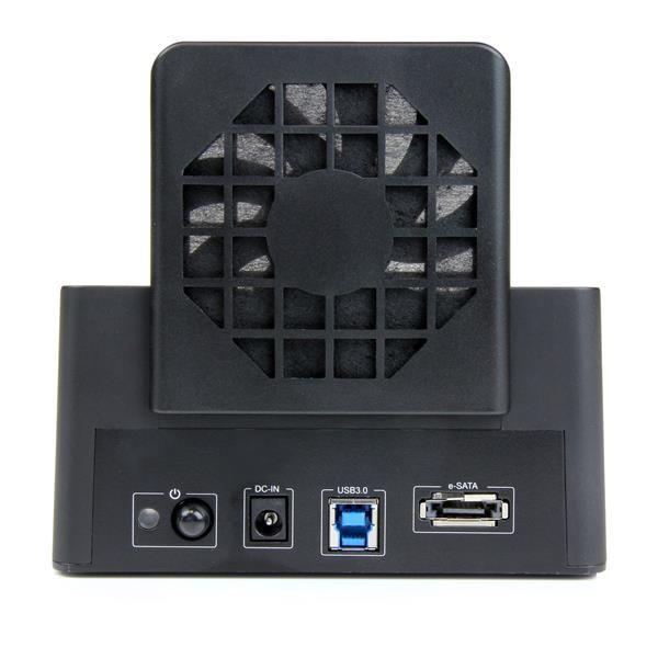 STARTECH DOCKING STATION EXTERNA USB3.0 VENTILADO SSD-HDD SDOCKU33EF