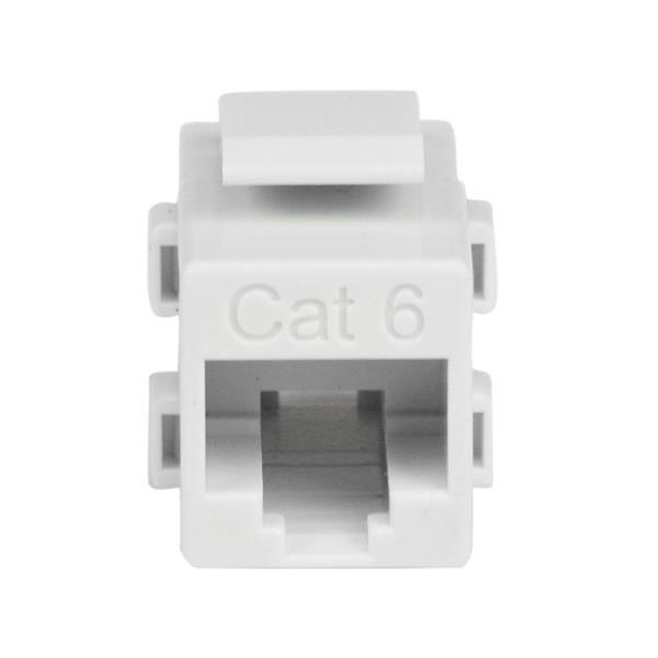 ACOPLADOR KEYSTONE CABLE CAT6 RJ45 HEMBRA A H  STARTECH C6KEYCOUPLWH
