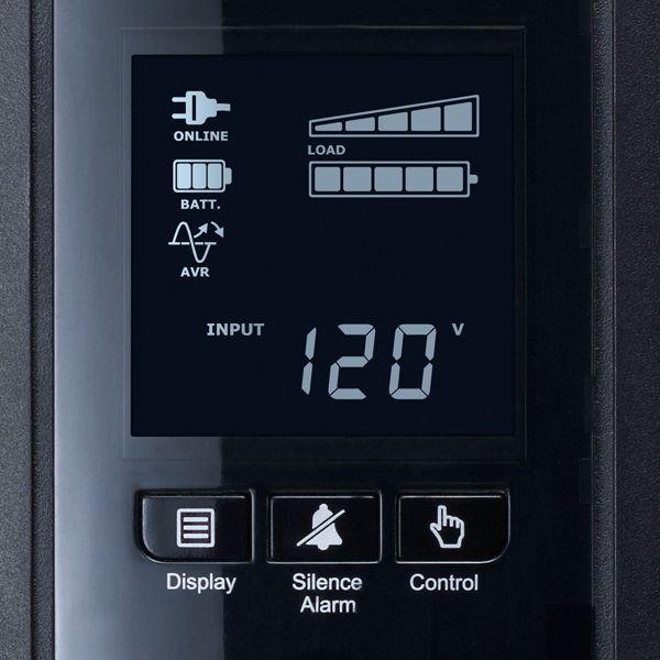 NOBREAK CYBERPOWER CP1500PFCLCD 1500VA/900W LCD 10 CONTACTOS
