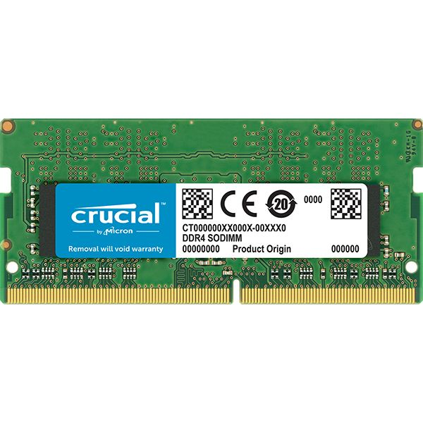 MEMORIA RAM CRUCIAL 16GB DDR4 2666 CL19 260-PIN SO-DIMM CT16G4SFD8266