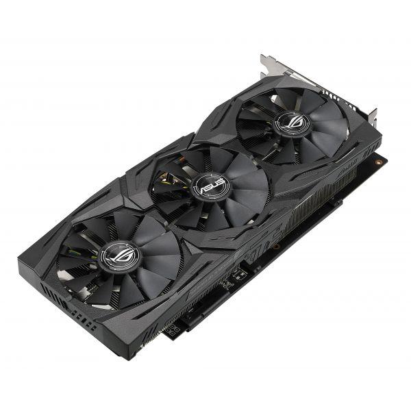 TARJETA DE VIDEO ASUS ROG-STRIX-RX580-O8G-GAMING 8GB GDDR5 256BIT PCIe