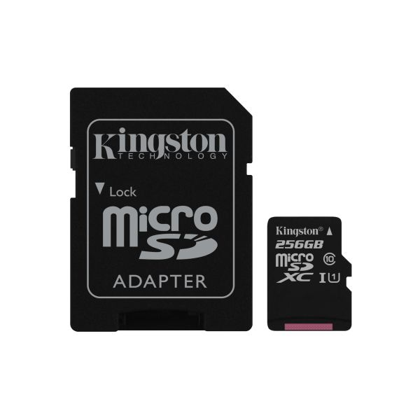 MEMORIA MICRO SD KINGSTON CANVAS SELECT 256GB UHS-I CL10 (SDCS/256GB)