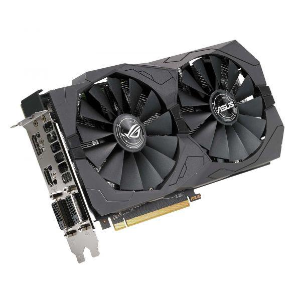 TARJETA DE VIDEO ASUS ROG-STRIX-RX570-O4G-GAMING 4GB GDDR5 256BIT PCIe