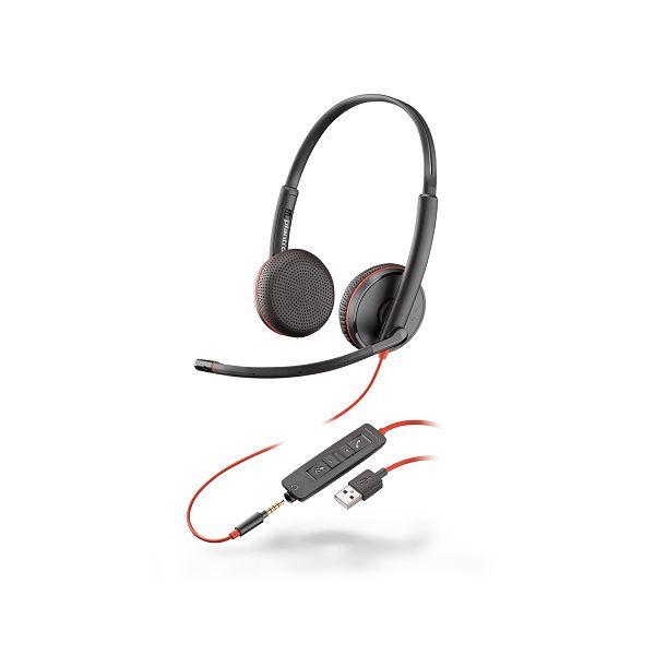 AUDIFONOS CON MICROFONO PLANTRONICS BLACKWIRE 3225 USB 209747-101