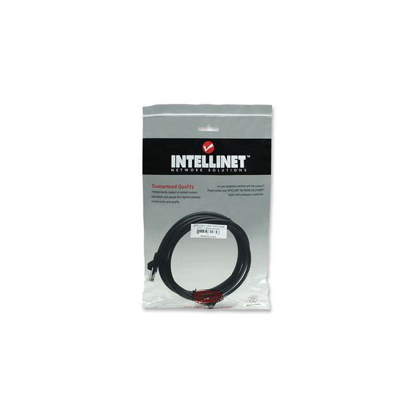 CABLE PATCH INTELLINET 3.0 MTS (10.0F) CAT-5E UTP NEGRO 320764