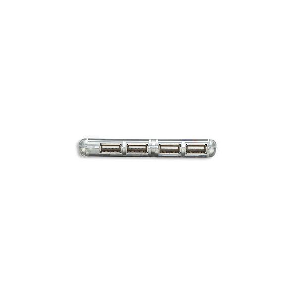 CONCENTRADOR HUB MANHATTAN USB V2.0  4 PTOS MINI SIN FUENTE 160599