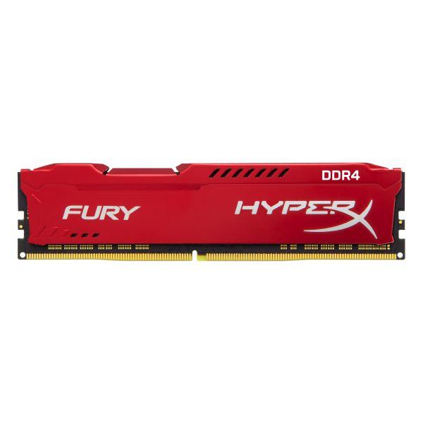 MEMORIA DDR4 KINGSTON HYPERX FURY RED 16GB 2133MHZ (HX421C14FR/16)