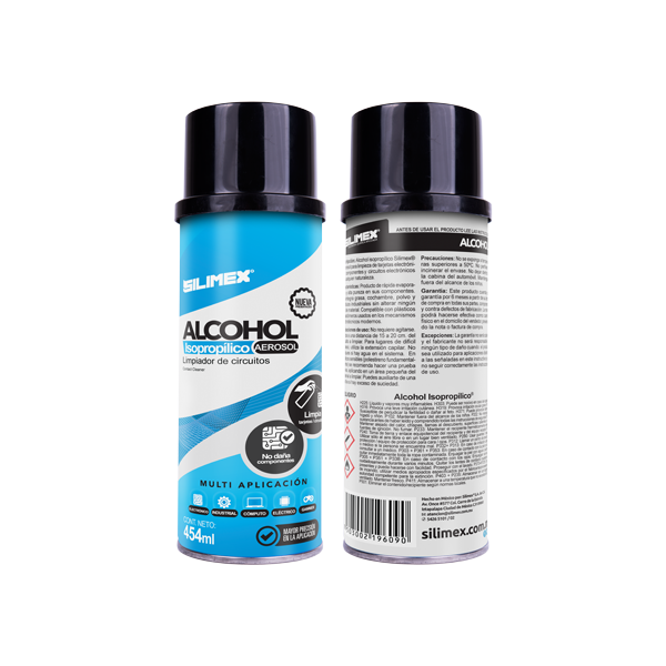 ALCOHOL ISOPROPILICO SILIMEX SPRAY 250ML