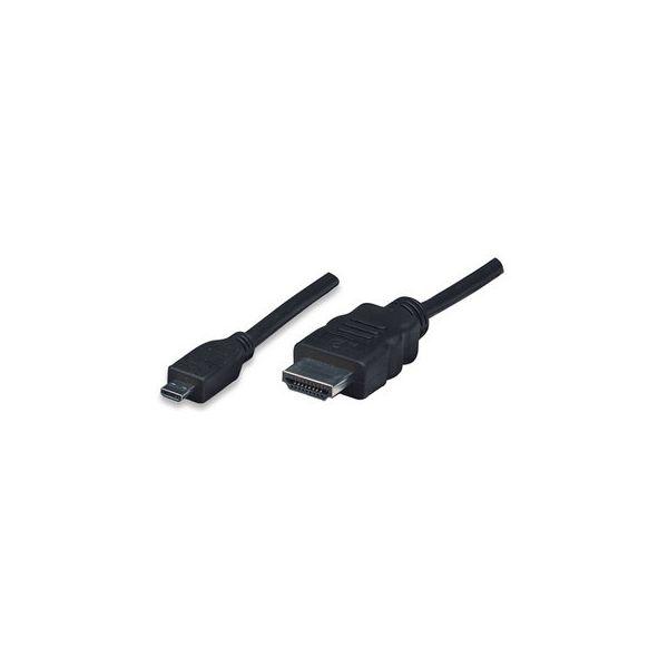 CABLE HDMI A MICRO HDMI M-M MANHATTAN 324427