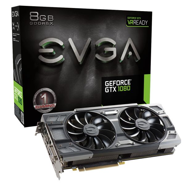 TARJETA DE VIDEO EVGA 08G-P4-6284-KR GTX 1080 8GB GDDR5X PCIe 3.0 CAJA