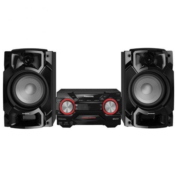 MINI COMPONENTE PANASONIC SC-AKX440LMK NEGRO 650 W AM FM MP3 WMA