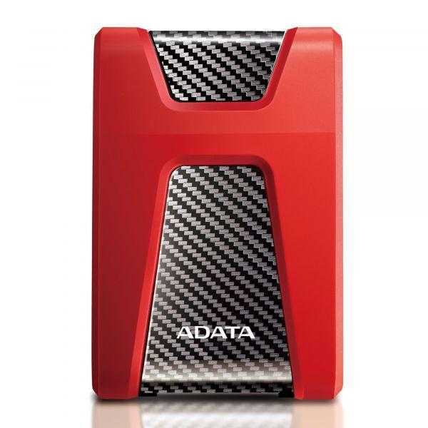 DISCO DURO EXTERNO ADATA HD650 1TB 2.5 3.1ROJO (AHD650-1TU31-CRD)