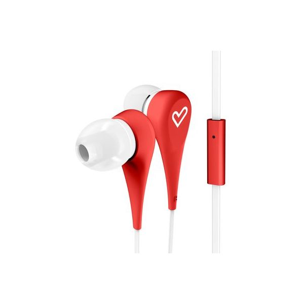 AUDIFONOS ENERGY SISTEM EY-446001 ROJO 3.5 MM 1.2 M 90 ± 3DB