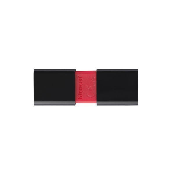 MEMORIA USB 3.0 KINGSTON DT106 16GB NEGRA/ROJA - DT106/16GB