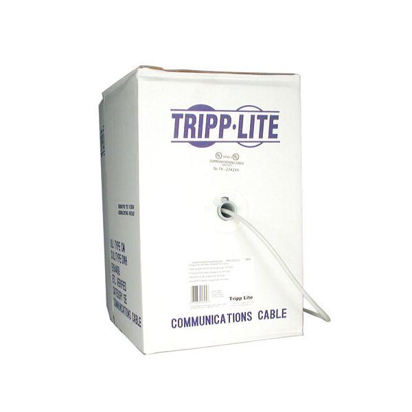 BOBINA DE CABLE CAT5 TRIPP LITE 305M GRIS N022-01K-GY