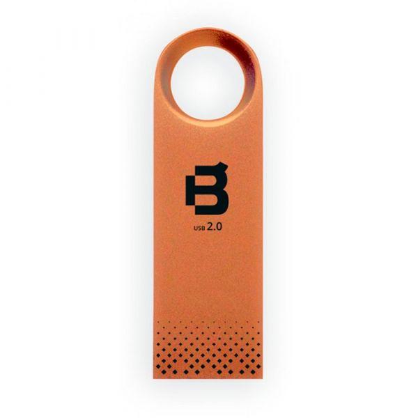 MEMORIA USB FLASH BLACKPCS 2108 64GB BRONCE METALICA MU2108RG-64
