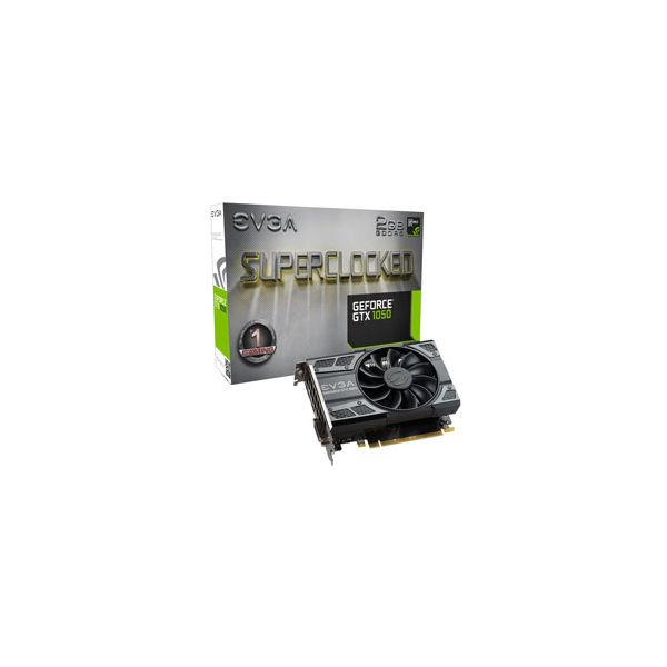 TARJETA DE VIDEO EVGA 02G-P4-6152-KR 2GB GTX 1050 SC GAMING