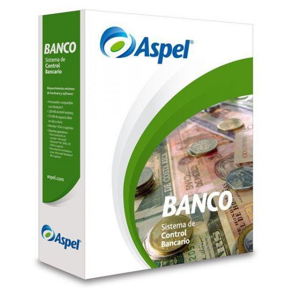 SOFTWARE ADMIN ASPEL BANCO 4.0 2USUARIOS ADICIONALES (BCOL2F)