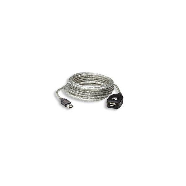 CABLE USB V2.0 MANHATTAN EXT ACTIVA 4.9M 519779