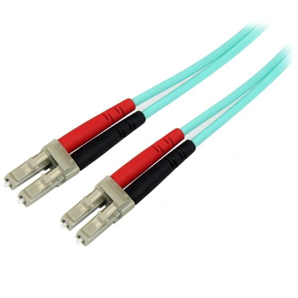 STARTECH.COM CABLE OPTICA DUPLEX MULTIMODO OM4 LC MACHO 2M 450FBLCLC2