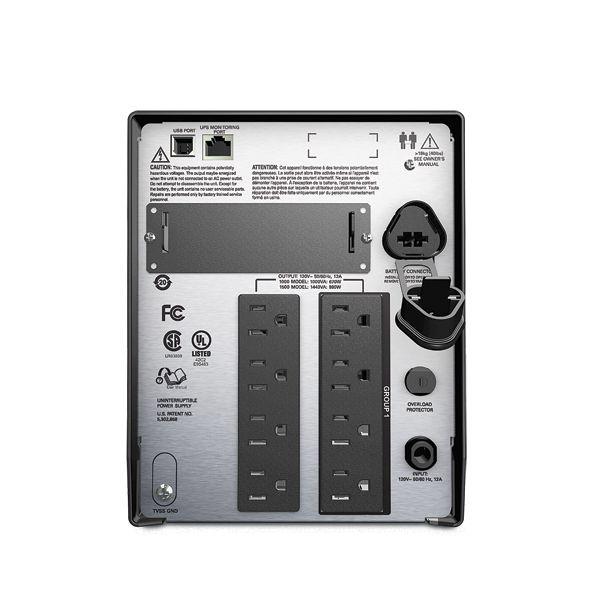 NO BREAK APC SMART-UPS LCD SMT1500 980W 1440VA E 120V S 120V