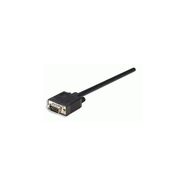 CABLE MONITOR MANHATTAN SVGA 8MM HD15M-M 30.0M 337342