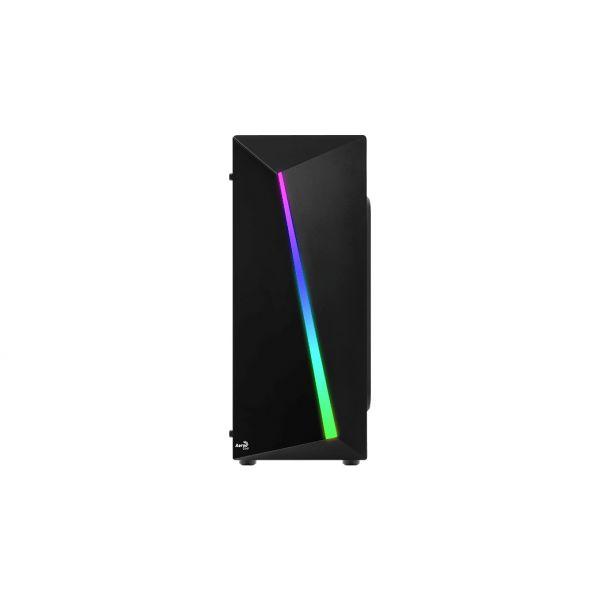 GABINETE GAMER AEROCOOL SHARD RGB NEGRO VENTANA