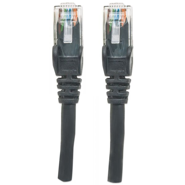 CABLE PATCH INTELLINET CAT-6, 1.0 MTS (3.0F) UTP NEGR (342049)