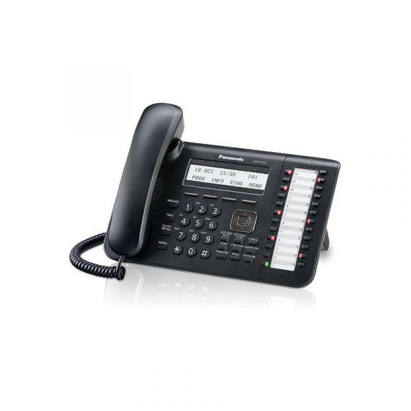 TELEFONO PANASONIC ALAMBRICO DE 3 LINEAS KX-DT543X-B ALTAVOZ NEGRO