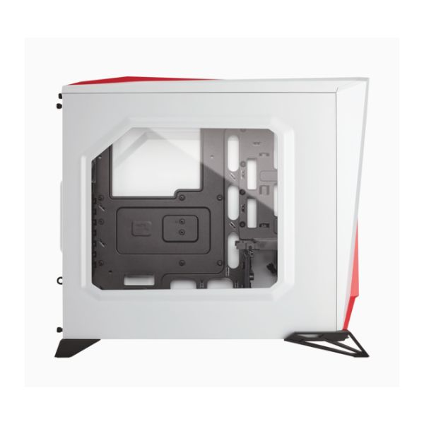 GABINETE CORSAIR SPEC ALPHA WHITE/RED SIN FUENTE CC-9011083-WW