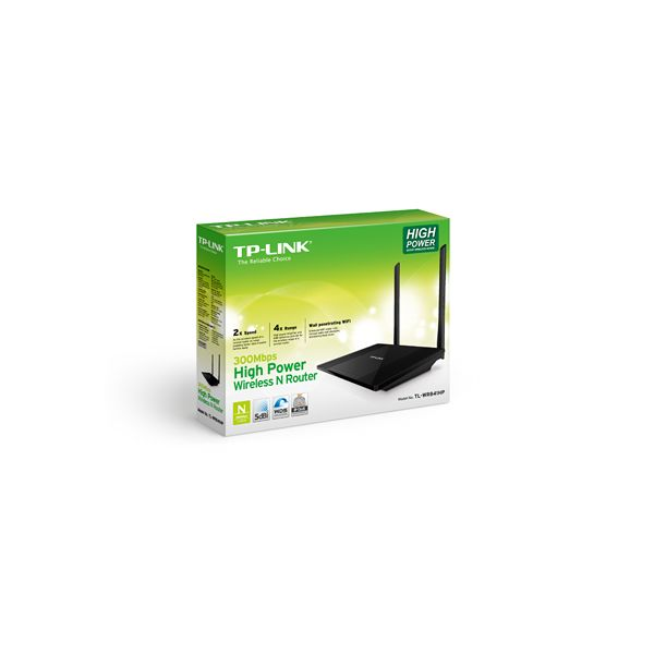 ROUTER INALAMBRICO ROMPEMUROS TPLINK TL-WR841HP 300MBPS 2ANT 9DBI