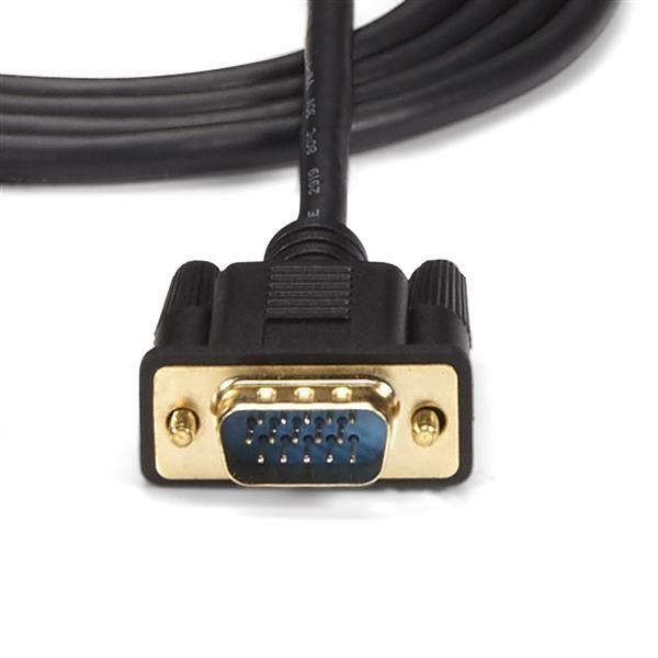 STARTECH CABLE CONVERTIDOR HDMI,AUDIO -VGA HEMBRA-MACHO HD2VGAMM6