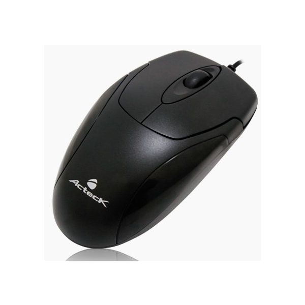 MOUSE ACTECK MO-200 OPTICO USB ESTANDAR WKMO-001