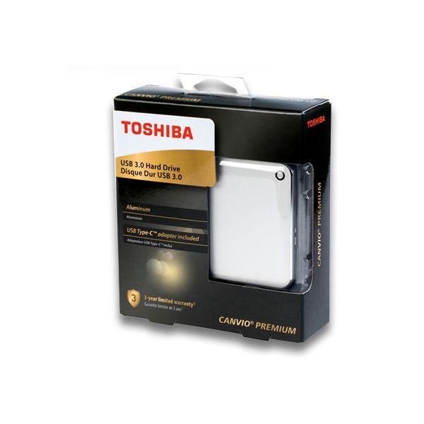 DISCO DURO EXTERNO TOSHIBA CANVIO PREMIUM 2TB 2.5
