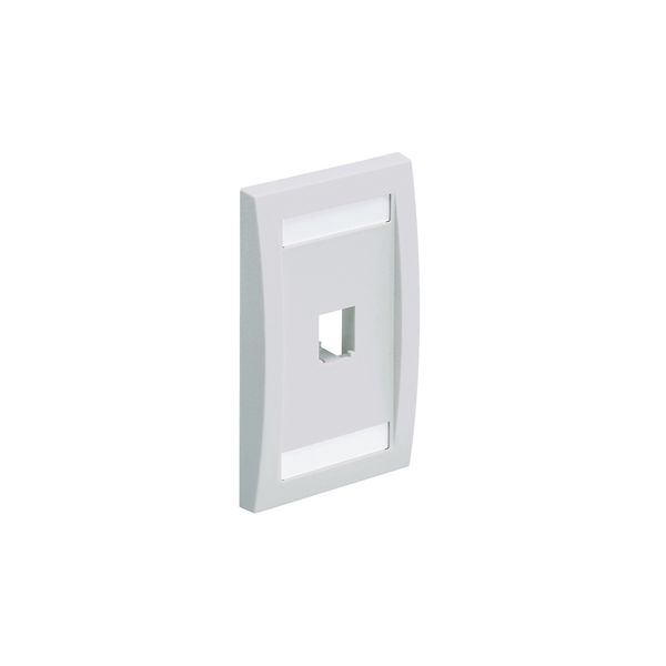 PLACA EJECUTIVA PANDUIT CFPE1IWY COLOR BLANCO PARA PARED 1 RANURA