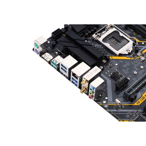 TARJETA MADRE ASUS TUF Z390-PLUS GAMING (WI-FI) 4DDR4 HDMI/DP 1151 ATX