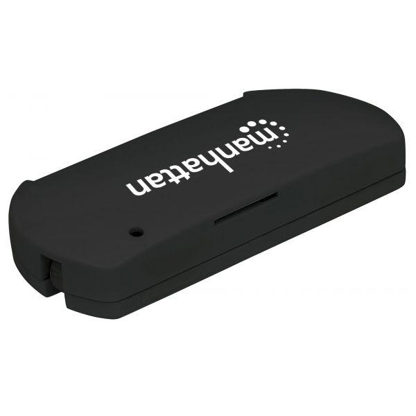 LECTOR DE TARJETAS MANHATTAN + SMART SIM USB 2.0 102032