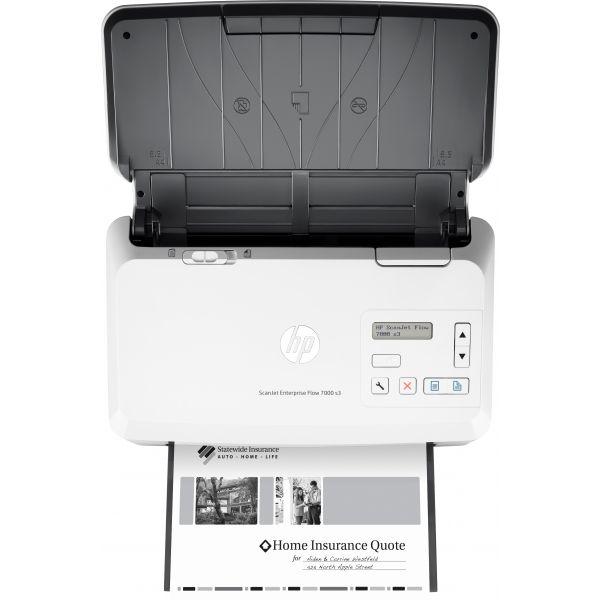 ESCANER HP ENTERPRISE FLOW 7000 S3 DUPLEX USB 3.0 ADF 7,500 PAG L2757A
