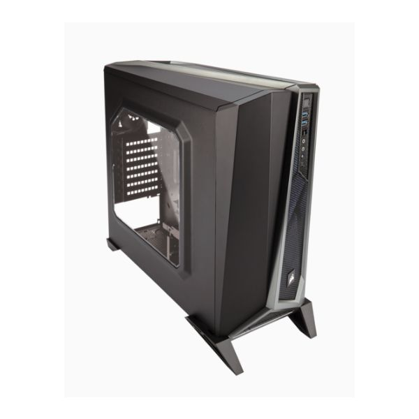 GABINETE GAMER CORSAIR SPEC ALPHA BLACK/SILVER SIN FTE CC-9011084-WW