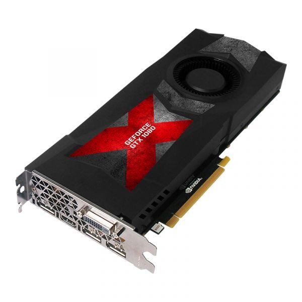 TARJETA DE VIDEO PNY VCGGTX10808PB GTX 1080 8GB GDDR5X PCIe 3.0 CAJA