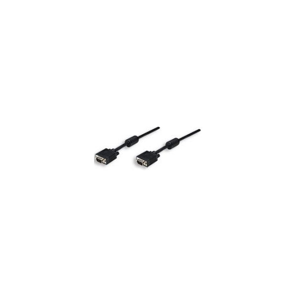 CABLE MONITOR MANHATTAN SVGA 5MM HD15M-M 11.0M FER 371568
