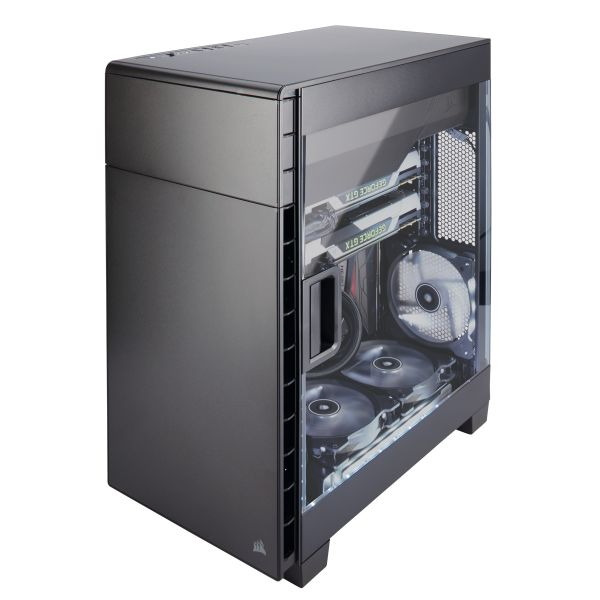 GABINETE CORSAIR CARBIDE 600C SIN FUENTE CC-9011079-WW