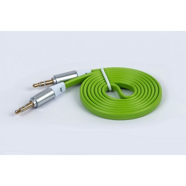 CABLE NACEB 3.5MM MACHO 1M VERDE NA-488VER