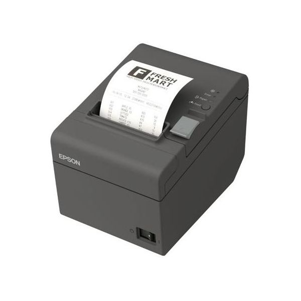 MINI IMPRESORA TERMICA EPSON TM-T20-II USB+SER 80MM (C31CD52062)