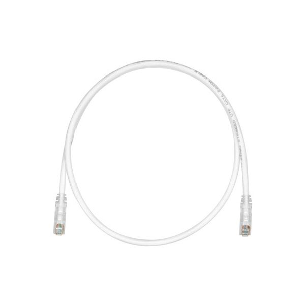 CABLE PATCH PANDUIT CAT6 UTP RJ-45 MACHO 1.5M BLANCO UTPSP5Y